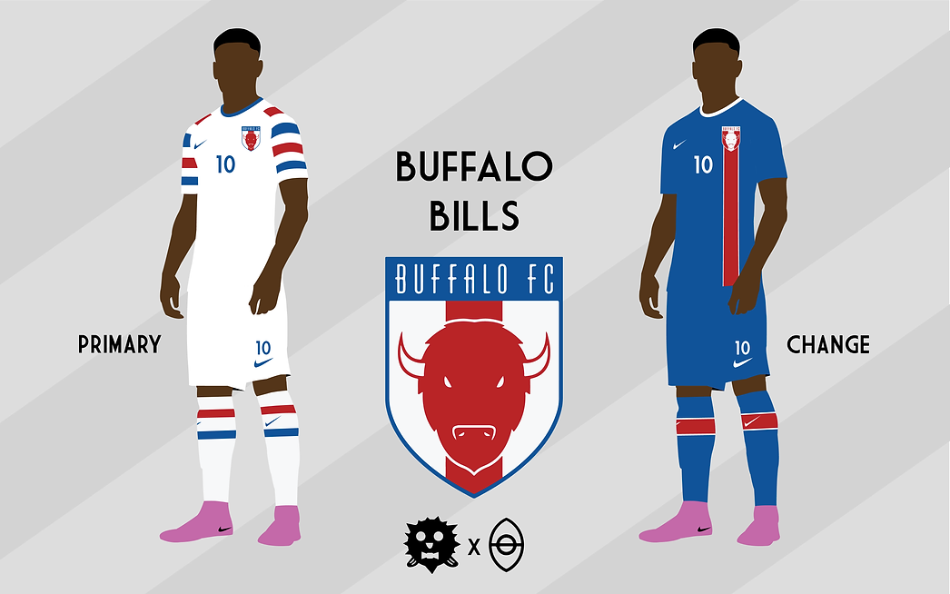 4d68cb3a7ae38 An artist designed soccer kits for all 32 NFL teams and the final results  are phenomenal
