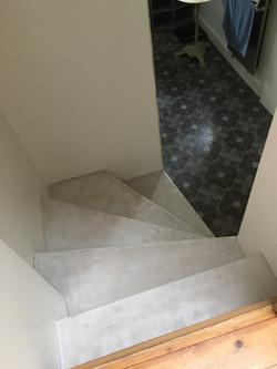 Escaliers en Mortex