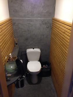 Relooking Toilette Mortex et bardage
