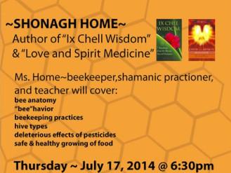 Honeybee Wisdom, July 2014
