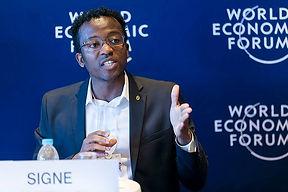 WEF 7 - Excellent speaking WEF backgroun