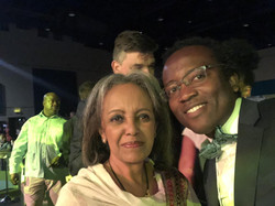 The first woman President of Ethiopi