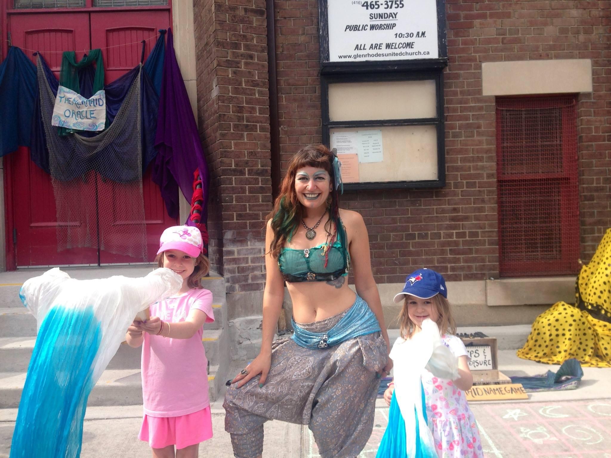 Mermaid initiation