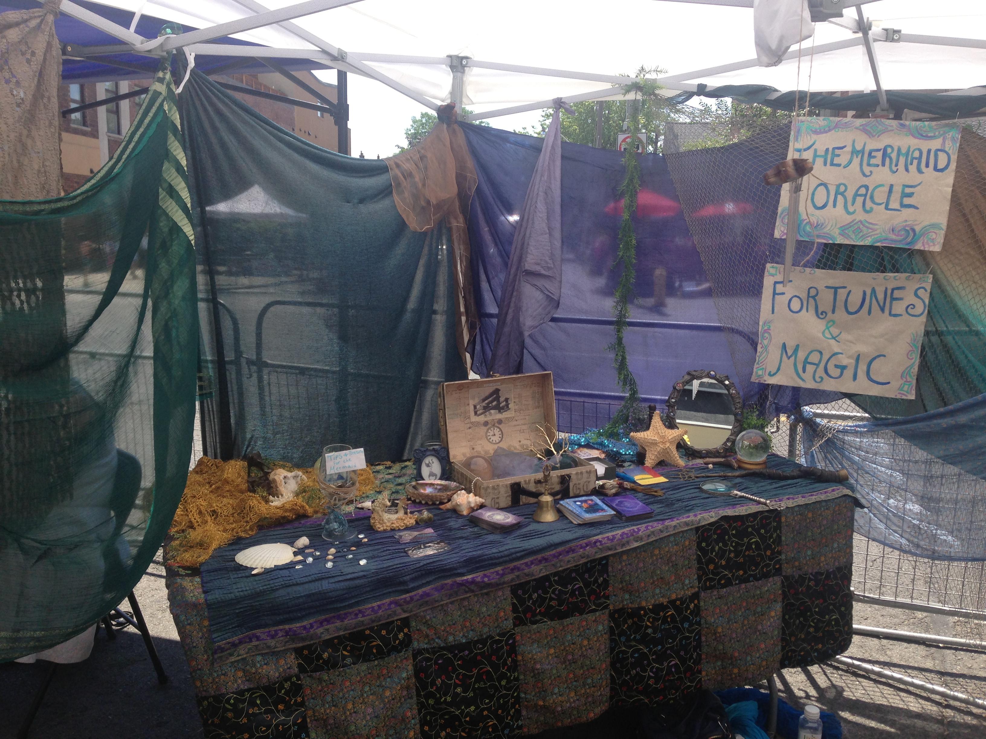 Mermaid Oracle Booth
