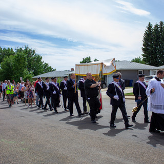 The Procession Moving Forward