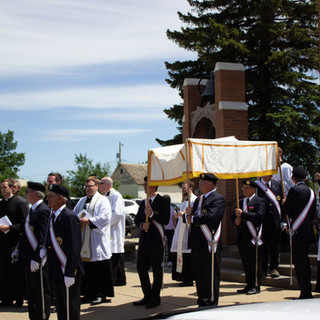 The Start of the Procession