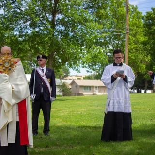 Deacon Paul Gardner Proclaiming the Gospel in Optimist Park