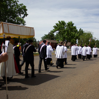Procession to Trinity