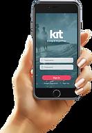 Hand holding kit Pro app