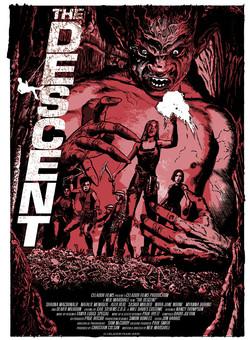 Descent poster Rough