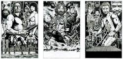 Kurt Triptych rough