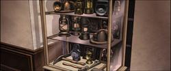 Jaeger Corridoor cutaway Miners cabinet