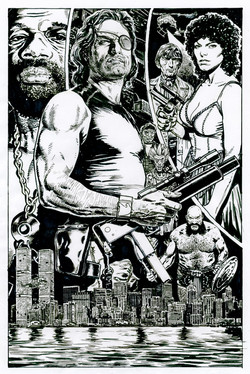 Escape from New York rough