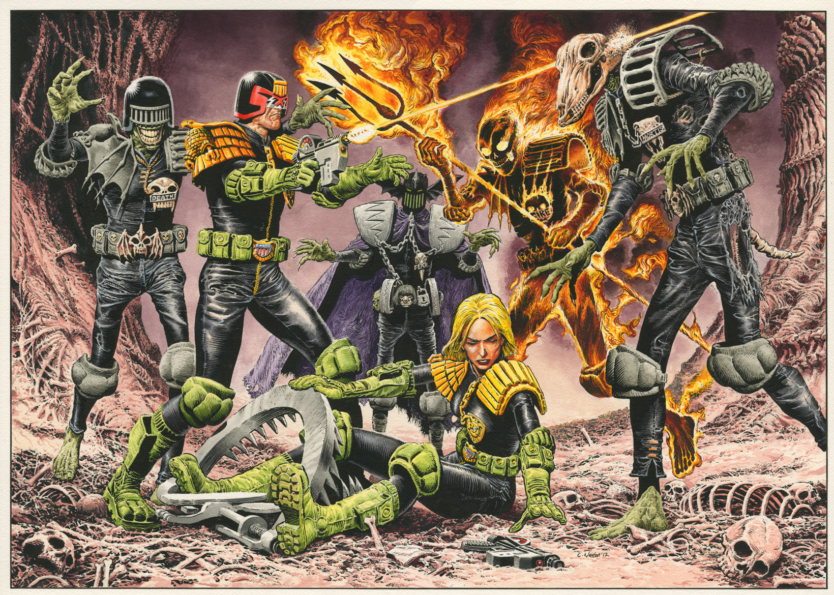 Bamber Dredd Versus Death
