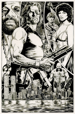 Escape From New York Art