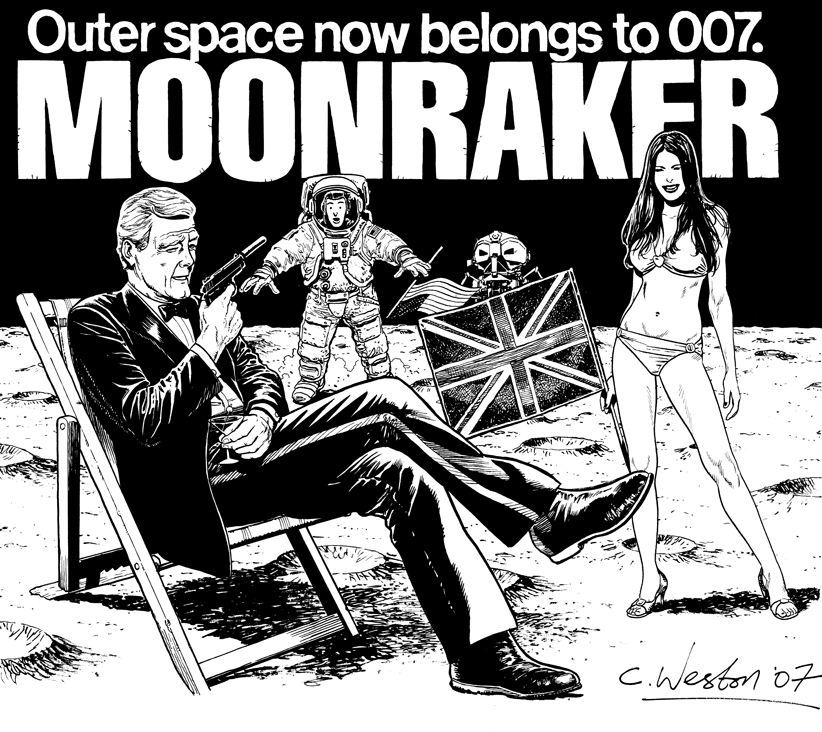 Moonraker art