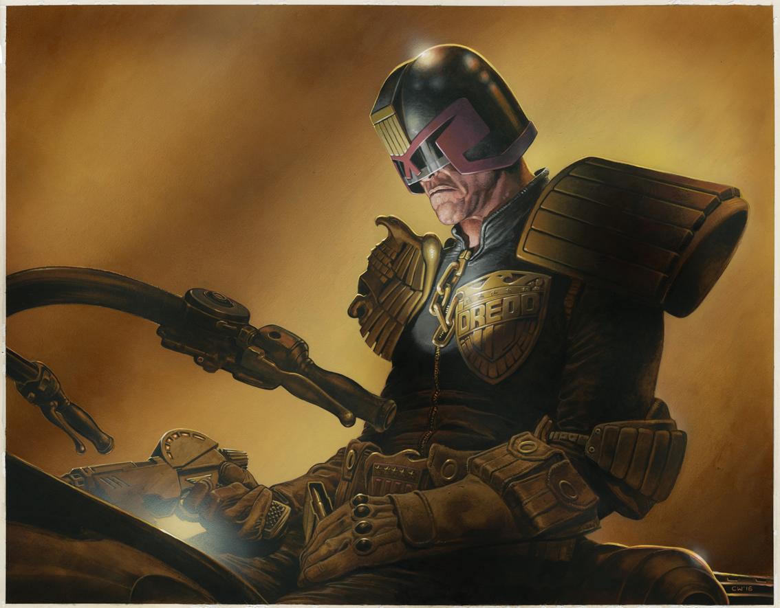Brooding Dredd