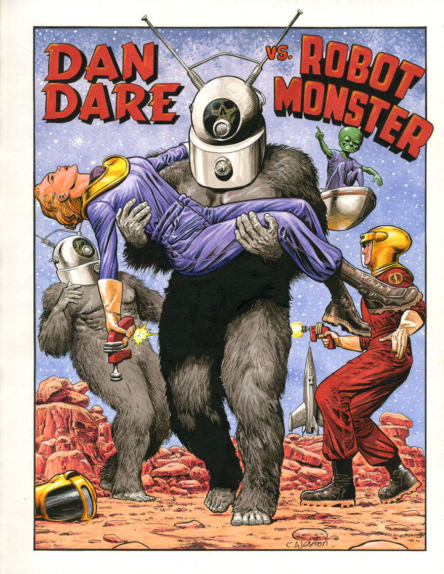 Dan Dare vs Robot Monster