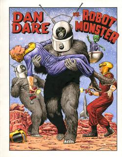Dan Dare vs Robot Monster