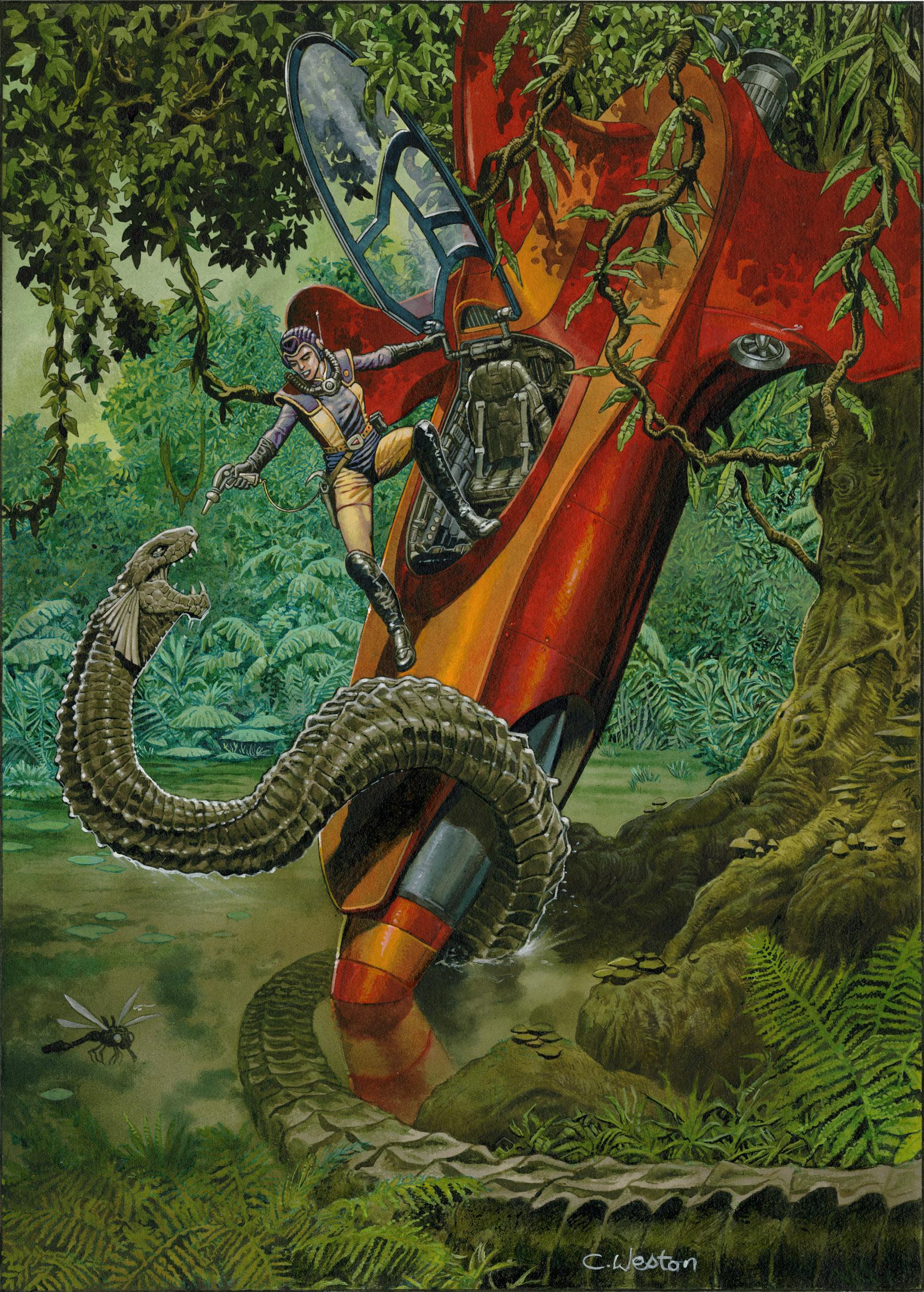 Bamber Snake Dark