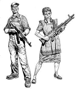 Martha and george