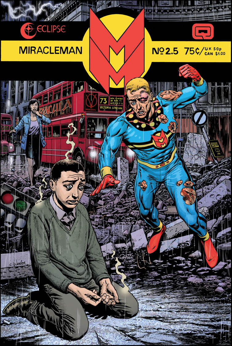 Miracleman 2.5 colour flat