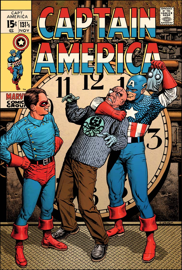 Captain America 131 colour