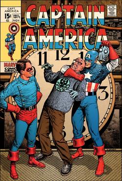 Captain America 131 colour