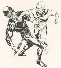 Jason's Marvelman sketch