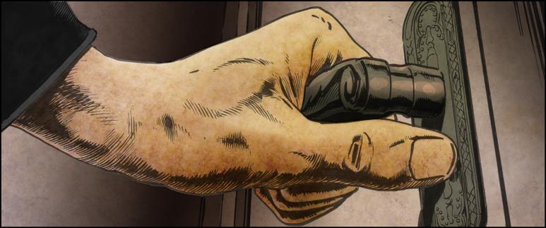 Jaeger Corridoor cutaway hand colour