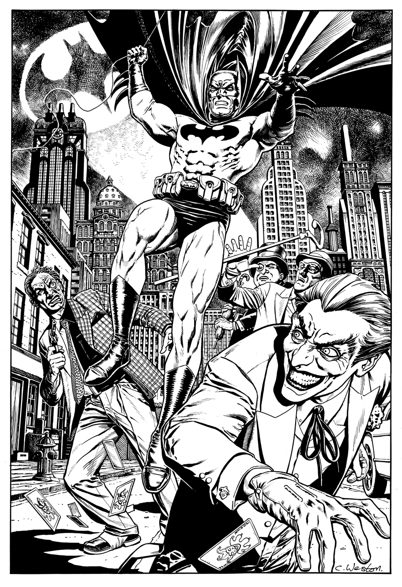 Sean's Batman Commission