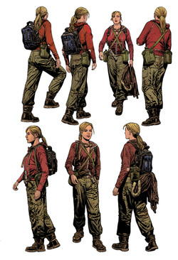 Solara in Cargo pants 01