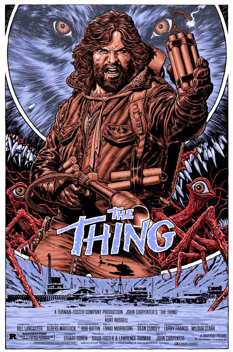 The Thing silkscreen