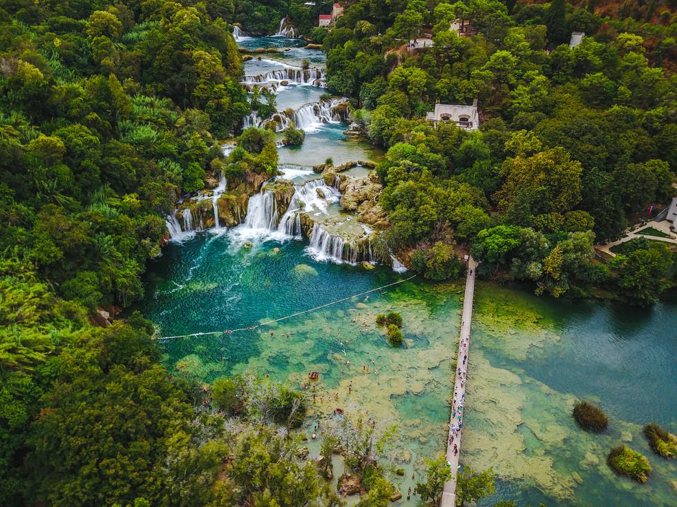 Krka National Falls, Croatia