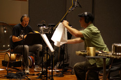 B and B in studio