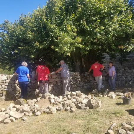 Stages pierre sèche, Meymac (19) et La Nouaille (23)