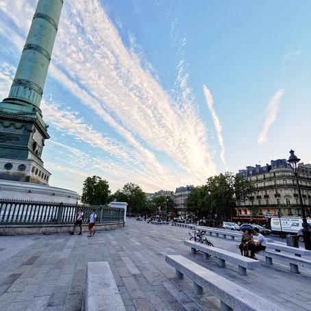 DU GRANIT DU SIDOBRE PLACE DE LA BASTILLE (Paris-75)