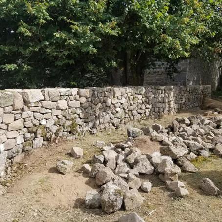 Formation pierre sèche, Flayat et Millevaches (23)