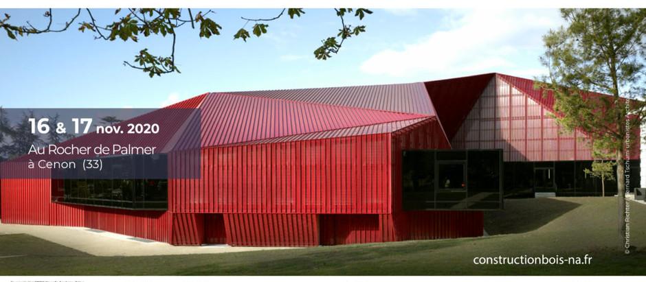 Reporté à 2021 / Journées régionales construction bois et biosourcés, Bordeaux (33)