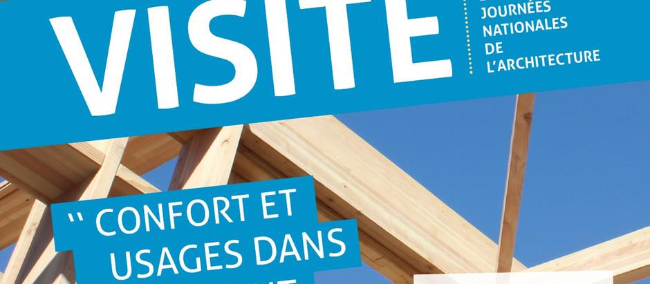 """Rencontre """"Construisons Bois"""" - Visite de l'extension du collège Jean Rebier à Isle (87)"""