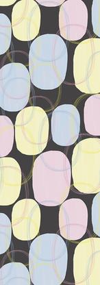 3 Colours Australian Dots and Swirls