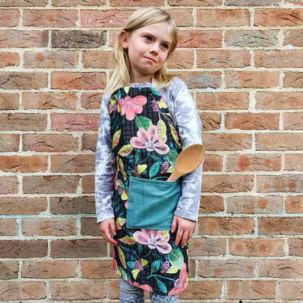 Creative Kids Apron - Bees and Flowers