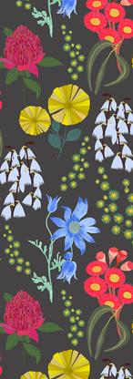 3 Colours Australian Flowers