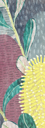 Exhibition Panel Coastal Banksia 1