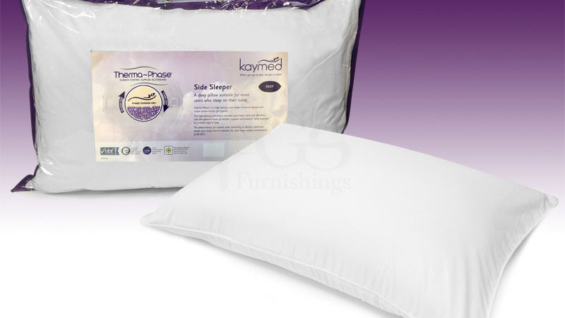 Kaymed Therma-Phase Side-Sleeper Deep Pillow