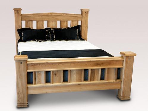 Donny Oak Bed Frame | The Forgan Bed Co, Dunfermline