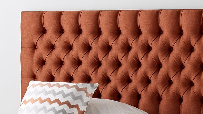 Healthopaedic Chesterfield Floor Standing Headboard