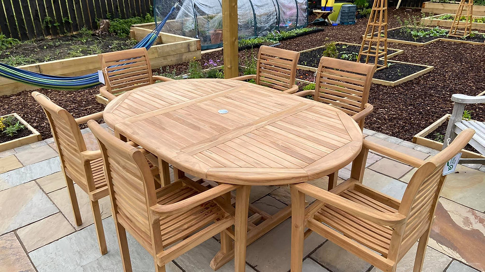 Viceroy 4 - 6 Seater Dining Set