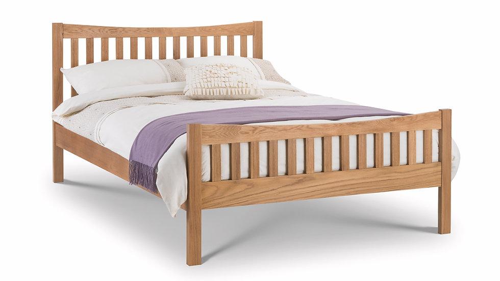 Bergamo Solid Oak Bed Frame