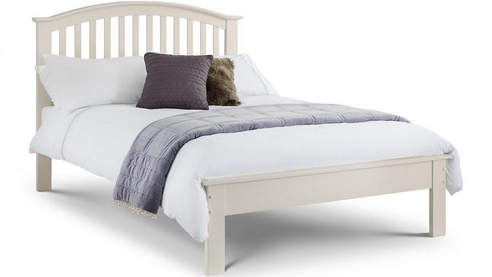 Olivia Bed Frame - Stone White